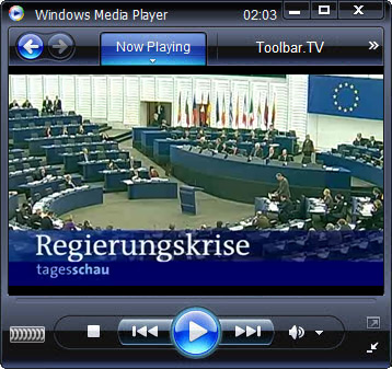 click RUN to watch ARD Tagesschau with Toolbar.TV