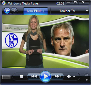 click RUN to watch Bundesligen TV with Toolbar.TV