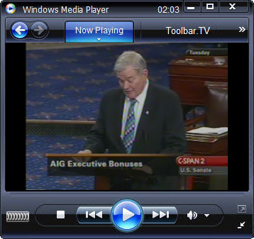 click RUN to watch C-SPAN2 with Toolbar.TV