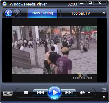 click RUN to watch Hope Channel with Toolbar.TV