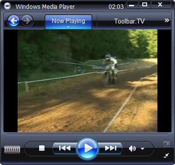 click RUN to watch Motorbike TV with Toolbar.TV