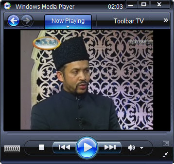 click RUN to watch MuslimTV with Toolbar.TV