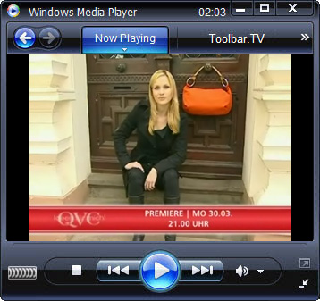 click RUN to watch QVC with Toolbar.TV