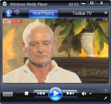 click RUN to watch SKY News with Toolbar.TV