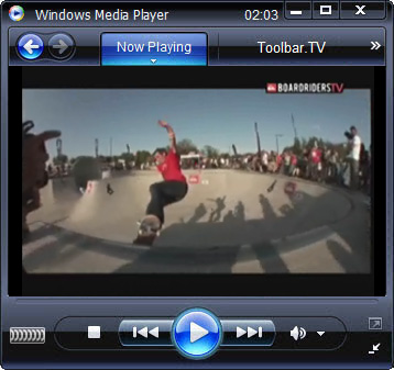 click RUN to watch Boardriders TV with Toolbar.TV