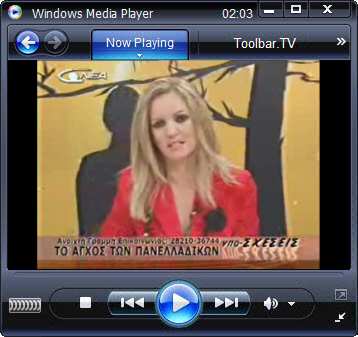 click RUN to watch Nea TV with Toolbar.TV