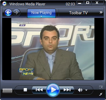 click RUN to watch Sport TV with Toolbar.TV